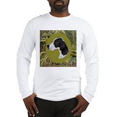 English Pointer Head Study Long Sleeve T-Shirt