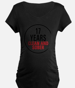 17 Years Clean and Sober T-Shirt
