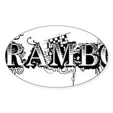 RAMBO Decal