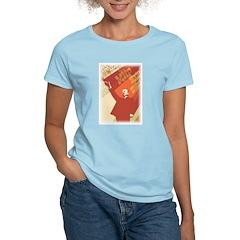 Lenin Women's Pink T-Shirt