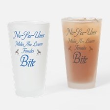No See ums Female bites Drinking Glass