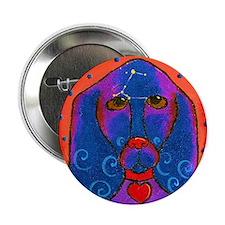Siriusly -Basset hound Button