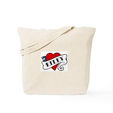 Riley tattoo Tote Bag