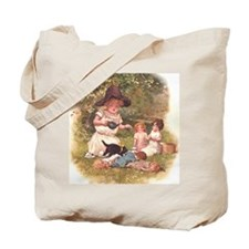 Round the Hearth  Tote Bag