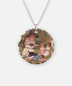 Round the Hearth  Necklace