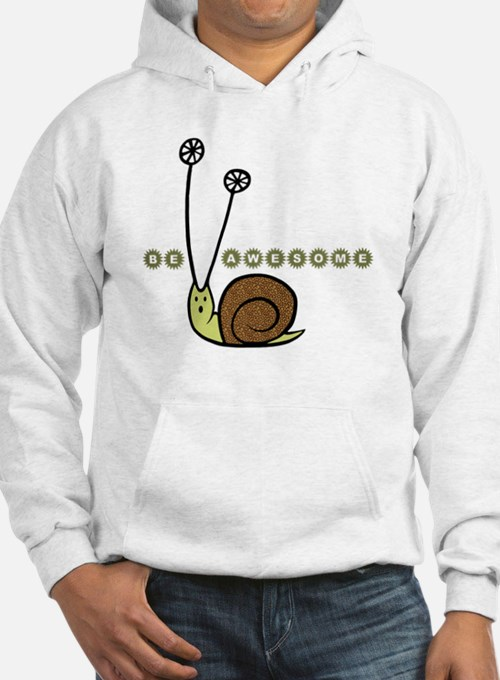 Be Awesome snail children Hoodie