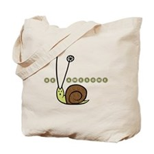 Be Awesome snail children Tote Bag