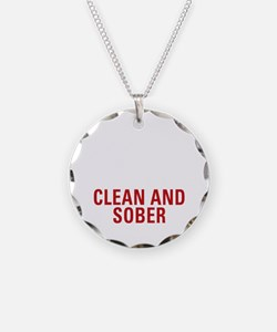 20 Years Clean and Sober Necklace
