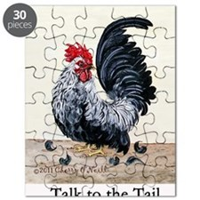 1 chicken card Tail Puzzle