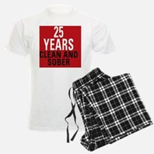 25 Years Clean and Sober! Pajamas