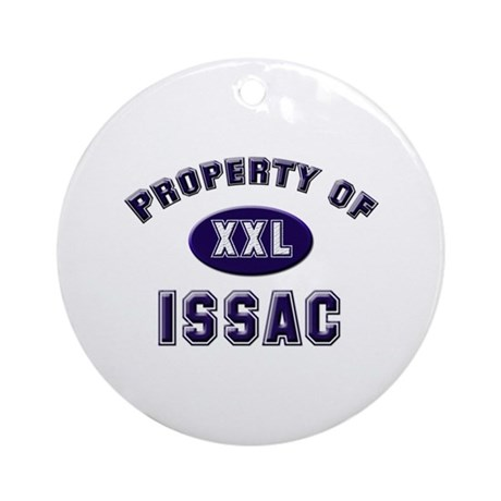 Property of issac Ornament (Round)