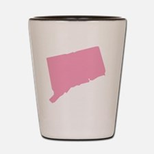 _0006_connecticut pink Shot Glass