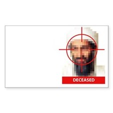 Osama Bin Laden - yes we did Decal