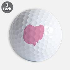 _0034_ohio pink Golf Ball