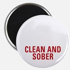 25 Years Clean and Sober! Magnet