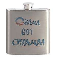 obamawhiteblue Flask