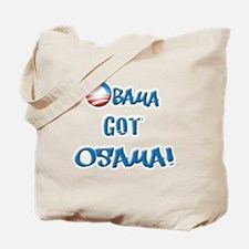 obamawhiteblue Tote Bag