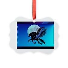 Wall Peel Pegasus Ornament