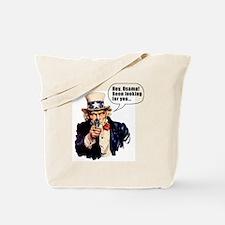 Uncle_Sams_Back2 Tote Bag