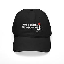 PlayDog4blk Baseball Hat