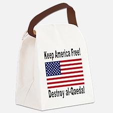 destroy_al_qaeda Canvas Lunch Bag