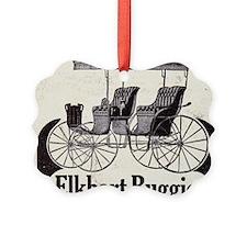 1909 Elkhart  Buggy Ad Ornament