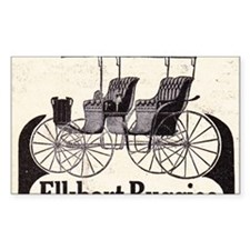 1909 Elkhart  Buggy Ad Decal