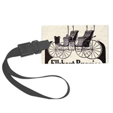 1909 Elkhart  Buggy Ad Luggage Tag