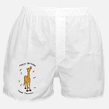 Pony Singing Birthday Boxer Shorts