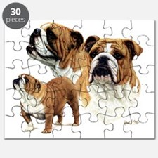 Bulldog Ready to print Puzzle