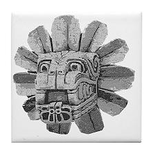 mayan stone Tile Coaster