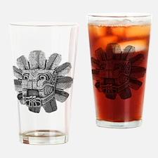 mayan stone Drinking Glass