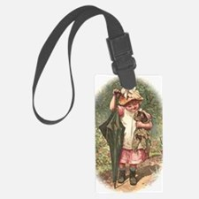 Round the Hearth Luggage Tag