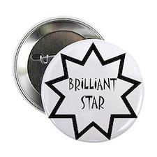 """Brilliant Star 2.25"""" Button"""