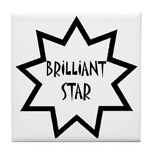 Brilliant Star Tile Coaster