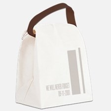 WTC september 11 th attacks Canvas Lunch Bag