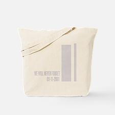 WTC september 11 th attacks Tote Bag