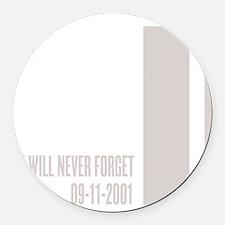 WTC september 11 th attacks Round Car Magnet