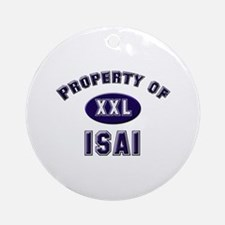 Property of isai Ornament (Round)