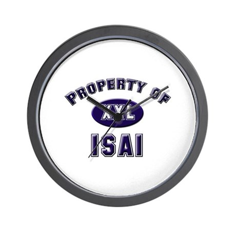 Property of isai Wall Clock