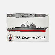 TicoCg-48_Yorktown_Tshirt_Front Rectangle Magnet