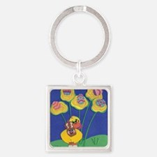easter duck 2011 Square Keychain