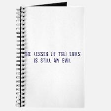 Evil: Journal