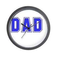 Best Dad Ever White Wall Clock