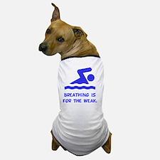 Breathing Weak Blue Dog T-Shirt