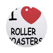 ROLLER_COASTERS Round Ornament