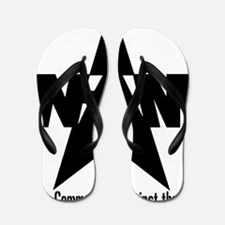 nam community state black Flip Flops