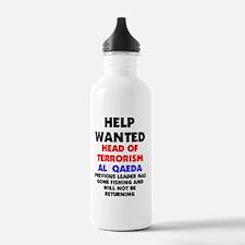 GONE_FISHING_BIN_LADEN Water Bottle