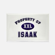 Property of isaak Rectangle Magnet