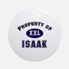 Property of isaak Ornament (Round)